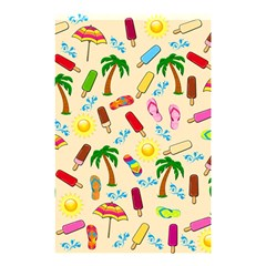 Beach Pattern Shower Curtain 48  X 72  (small)  by Valentinaart