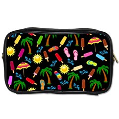 Beach Pattern Toiletries Bags 2 Side