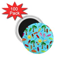 Beach Pattern 1 75  Magnets (100 Pack)  by Valentinaart