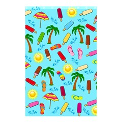 Beach Pattern Shower Curtain 48  X 72  (small)