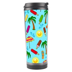 Beach Pattern Travel Tumbler