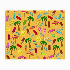 Beach Pattern Small Glasses Cloth (2 Side)