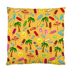 Beach Pattern Standard Cushion Case (one Side)