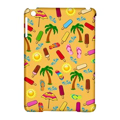 Beach Pattern Apple Ipad Mini Hardshell Case (compatible With Smart Cover)