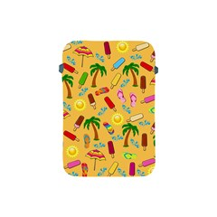 Beach Pattern Apple Ipad Mini Protective Soft Cases by Valentinaart
