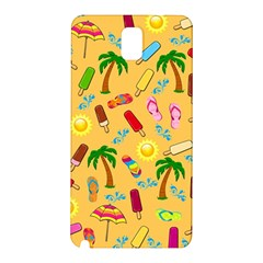 Beach Pattern Samsung Galaxy Note 3 N9005 Hardshell Back Case