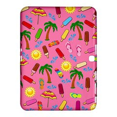 Beach Pattern Samsung Galaxy Tab 4 (10 1 ) Hardshell Case