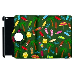Beach Pattern Apple Ipad 2 Flip 360 Case
