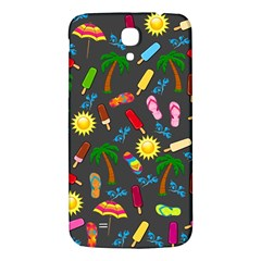 Beach Pattern Samsung Galaxy Mega I9200 Hardshell Back Case by Valentinaart