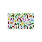 Beach Pattern Cosmetic Bag (XS) Front