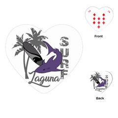 Surf   Laguna Playing Cards (heart)  by Valentinaart