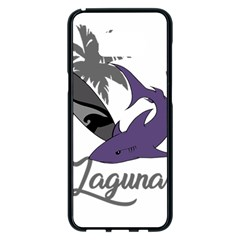 Surf - Laguna Samsung Galaxy S8 Plus Black Seamless Case by Valentinaart