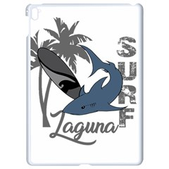 Surf   Laguna Apple Ipad Pro 9 7   White Seamless Case by Valentinaart