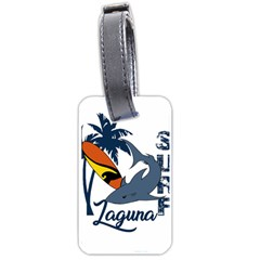 Surf   Laguna Luggage Tags (two Sides)