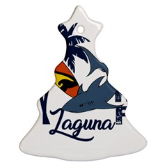 Surf   Laguna Christmas Tree Ornament (two Sides)