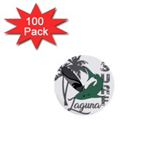 Surf - Laguna 1  Mini Buttons (100 pack)