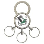 Surf - Laguna 3-Ring Key Chains Front