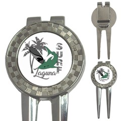 Surf   Laguna 3 In 1 Golf Divots by Valentinaart