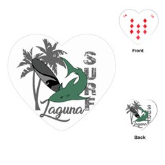 Surf - Laguna Playing Cards (Heart)