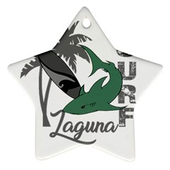 Surf - Laguna Star Ornament (Two Sides)
