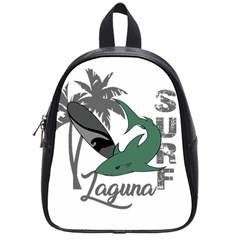Surf   Laguna School Bags (small)  by Valentinaart