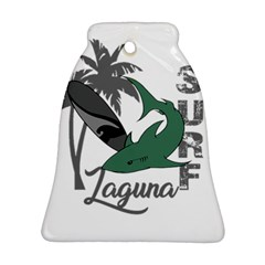 Surf - Laguna Bell Ornament (Two Sides)