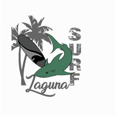 Surf - Laguna Small Garden Flag (Two Sides)