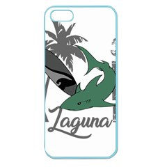 Surf - Laguna Apple Seamless iPhone 5 Case (Color)