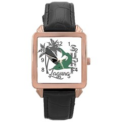Surf - Laguna Rose Gold Leather Watch