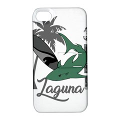 Surf - Laguna Apple iPhone 4/4S Hardshell Case with Stand