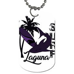 Surf   Laguna Dog Tag (one Side) by Valentinaart