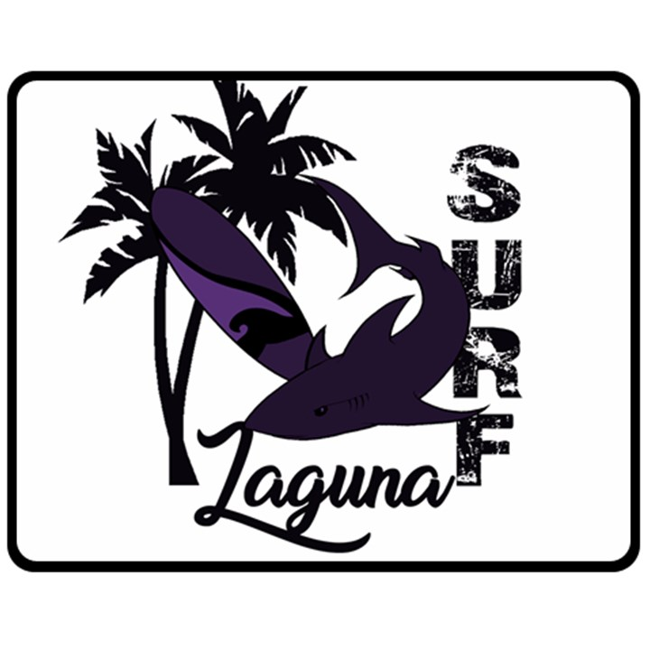 Surf - Laguna Fleece Blanket (Medium)