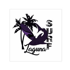 Surf   Laguna Small Satin Scarf (square) by Valentinaart
