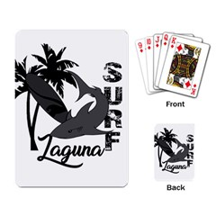 Surf   Laguna Playing Card by Valentinaart