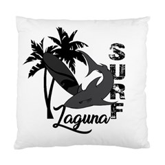 Surf   Laguna Standard Cushion Case (two Sides) by Valentinaart