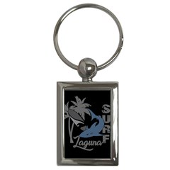 Surf   Laguna Key Chains (rectangle)  by Valentinaart