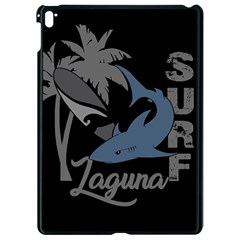 Surf   Laguna Apple Ipad Pro 9 7   Black Seamless Case by Valentinaart