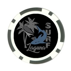 Surf   Laguna Poker Chip Card Guard (10 Pack) by Valentinaart