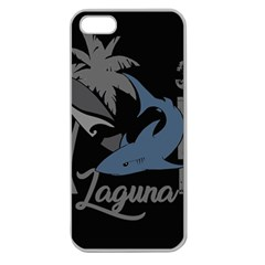 Surf   Laguna Apple Seamless Iphone 5 Case (clear) by Valentinaart