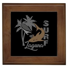 Surf   Laguna Framed Tiles by Valentinaart
