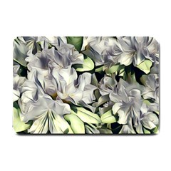 Elegant Flowers A Small Doormat  by MoreColorsinLife