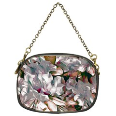 Elegant Flowers B Chain Purses (one Side)  by MoreColorsinLife