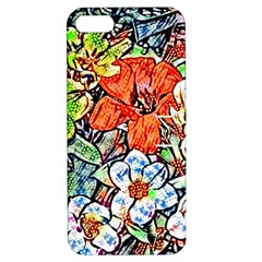 Hot Flowers 02 Apple Iphone 5 Hardshell Case With Stand by MoreColorsinLife