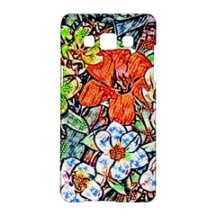 Hot Flowers 02 Samsung Galaxy A5 Hardshell Case  by MoreColorsinLife