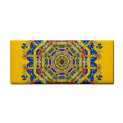 Happy Fantasy Earth Mandala Cosmetic Storage Cases by pepitasart