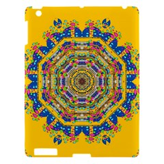 Happy Fantasy Earth Mandala Apple Ipad 3/4 Hardshell Case by pepitasart