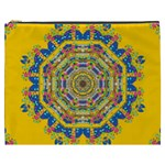 Happy Fantasy Earth Mandala Cosmetic Bag (XXXL)  Front