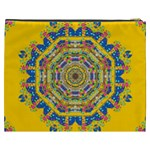 Happy Fantasy Earth Mandala Cosmetic Bag (XXXL)  Back