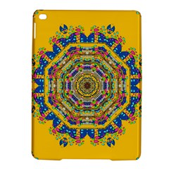 Happy Fantasy Earth Mandala Ipad Air 2 Hardshell Cases by pepitasart