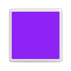 Neon Purple Solid Color  Memory Card Reader (square)  by SimplyColor